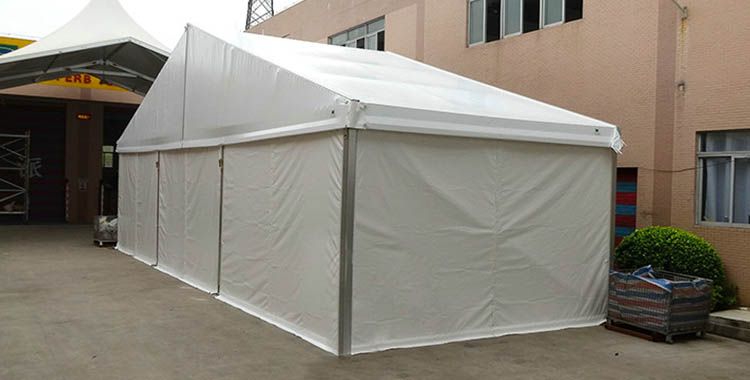 300 People capability PVC sidewalls events tent [MS series]