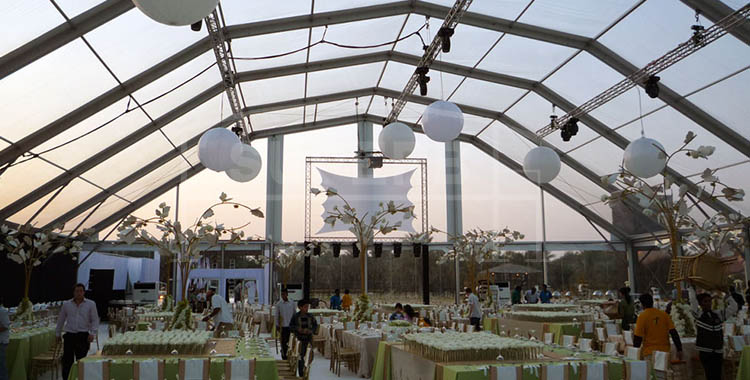 Large Polygon Tent for big party event [XLS series]