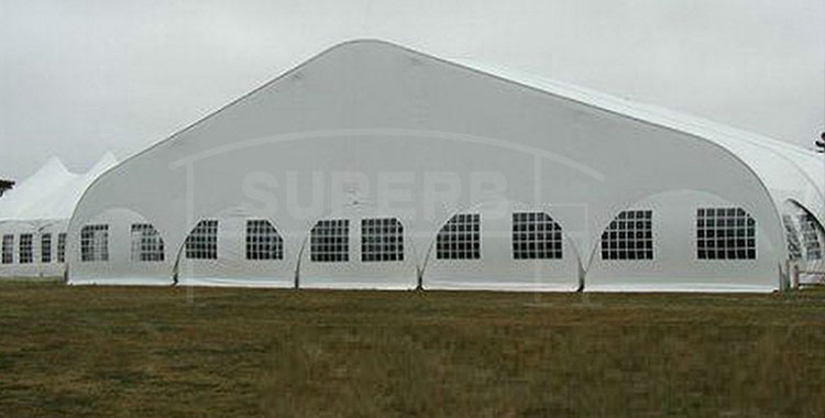 New Design Outdoor Events Curve Tent for Sports [LS series]