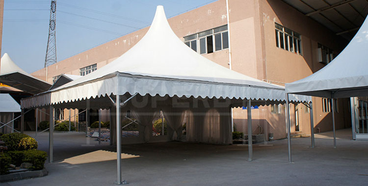10x10m Aluminum Frame Trade Show Pagoda tent [PA series]