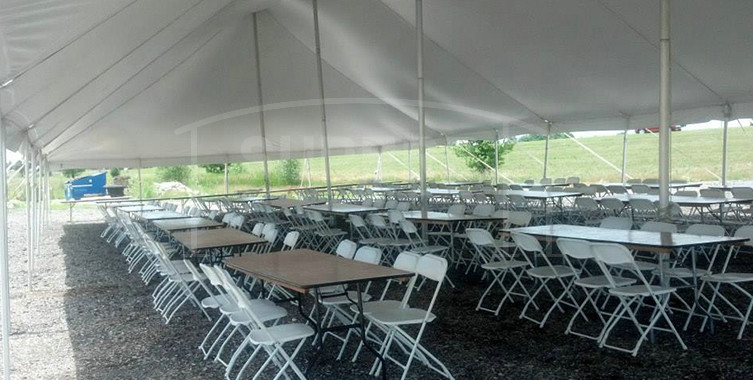 Pole Tent for Wedding Party