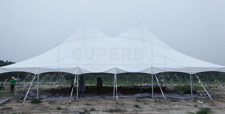 Pole Tent for Event in USA [SS series]