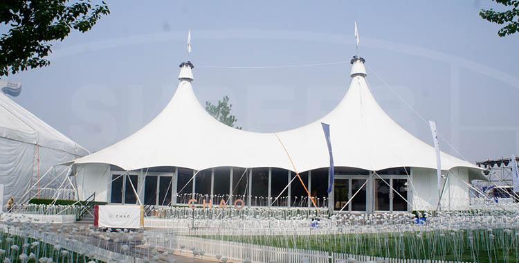 Circus tents for LA NOVA CIRQUE In Beijing