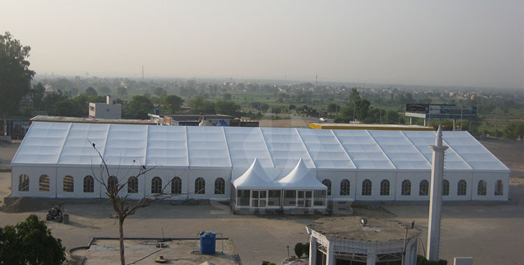 25x60m Wedding Tent in Pakistan