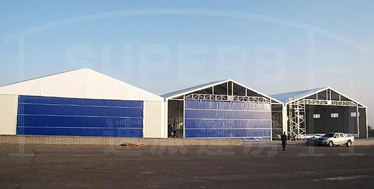 How To Do Well Fireproof Management Of Large Warehouse Tent
