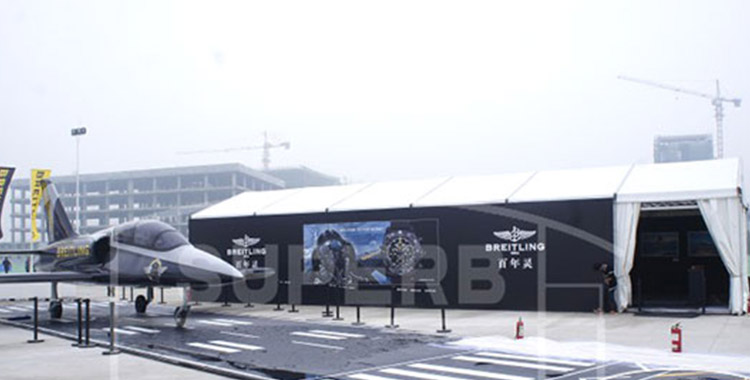 Fabric Structures for ZhengZhou AirShow & Expositions