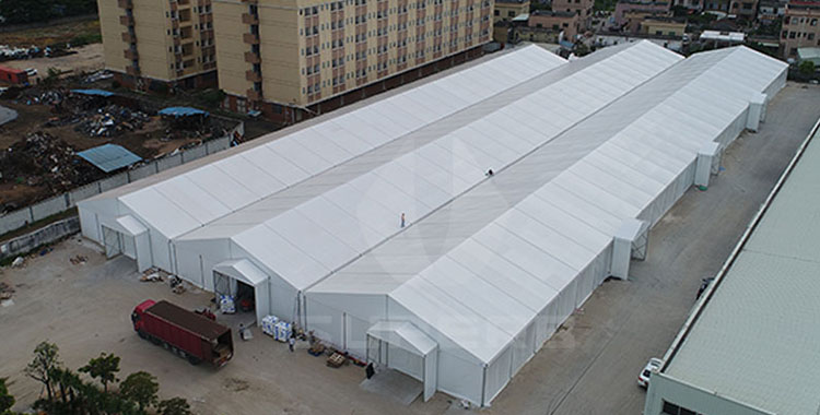 10,000 square meters industrial warehouse tent in Zhongshan