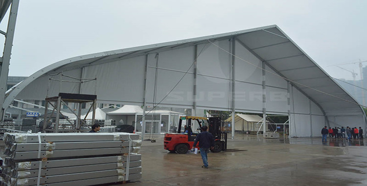 40×30m Curve Tent for Sale